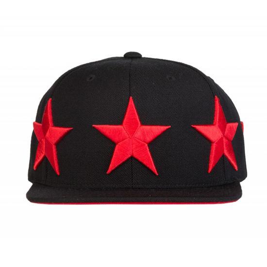 Изображение Бейсболка TMT HOLLYWOOD черный/красный один размер