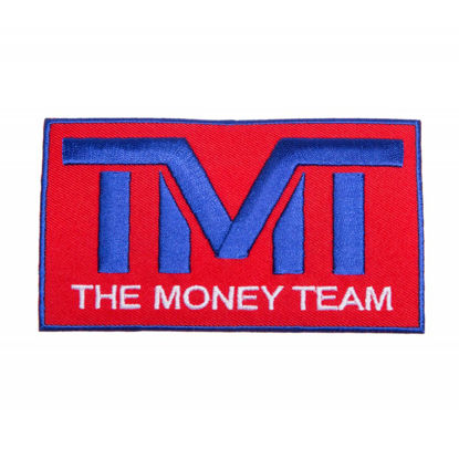 Изображение Наклейка TMT красный/синий один размер