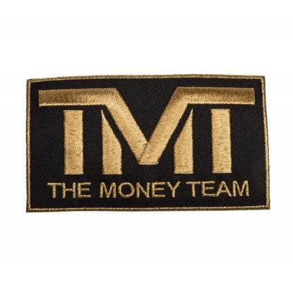 Изображение Наклейка TMT черный/золотой один размер