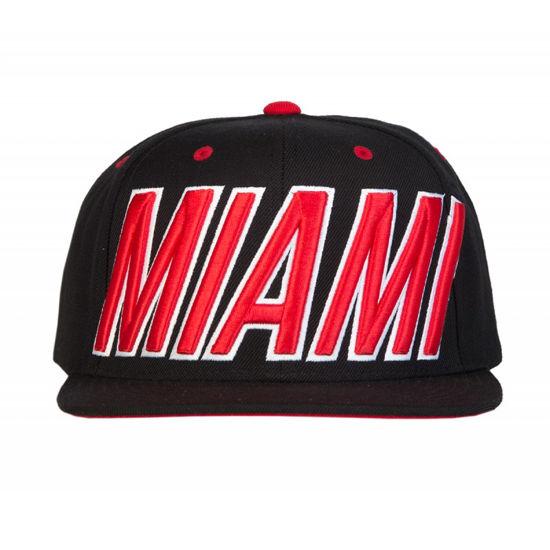 Изображение Бейсболка TMT MIAMI черный/красный один размер