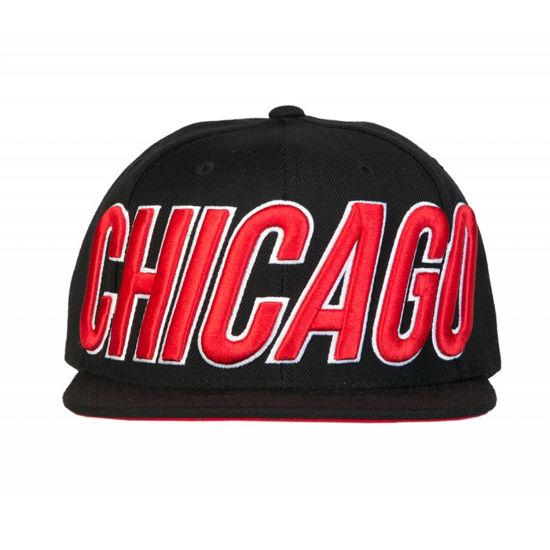 Изображение Бейсболка TMT CHICAGO черный/красный один размер
