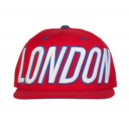 Изображение Бейсболка TMT LONDON красный/белый один размер