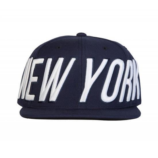 Изображение Бейсболка TMT NEW YORK синий/белый один размер