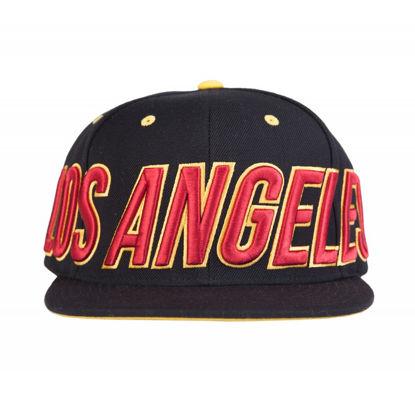 Изображение Бейсболка TMT LOS ANGELES черный/красный один размер