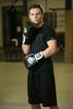 Изображение Тренировочные перчатки (на липучке) PRO GEL черный/белый