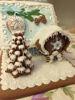 Изображение Прянчный имбирный домик мультицвет