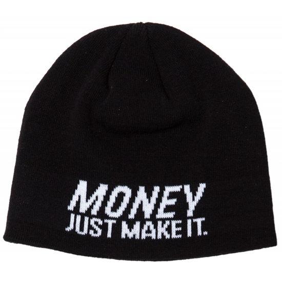Изображение Шапка TMT MONEY JUST MAKE IT черный