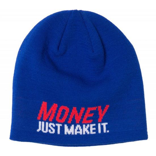 Изображение Шапка TMT MONEY JUST MAKE IT синий