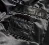 Изображение Куртка кожаная TMT MONEY черный/белый