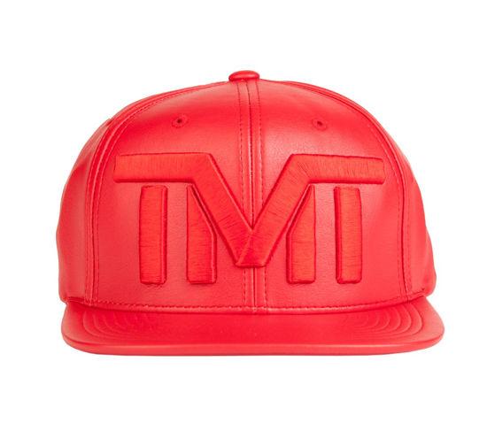 Изображение Бейсболка TMT BLANK CHECK красный один размер