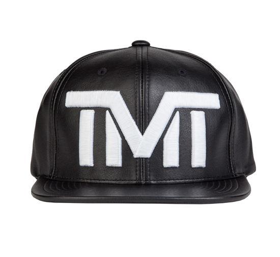 Изображение Бейсболка TMT BLANK CHECK черный/белый один размер
