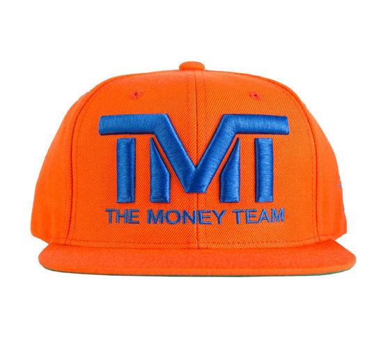Изображение Бейсболка TMT COURTSIDE оранжевый/синий один размер