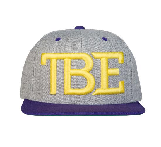 Изображение Бейсболка TMT TBE серый/желтый один размер
