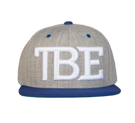 Изображение Бейсболка TMT TBE серый/белый один размер