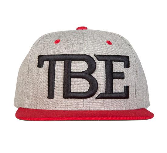 Изображение Бейсболка TMT TBE серый/черный/красный один размер