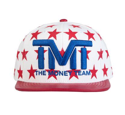 Изображение Бейсболка TMT MONEY DREAMS белый/синий/красный один размер