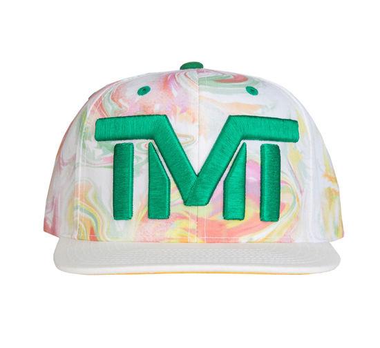 Изображение Бейсболка TMT OCEAN VIEW белый/зеленый/желтый один размер