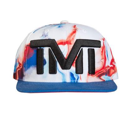 Изображение Бейсболка TMT OCEAN VIEW белый/синий/красный один размер
