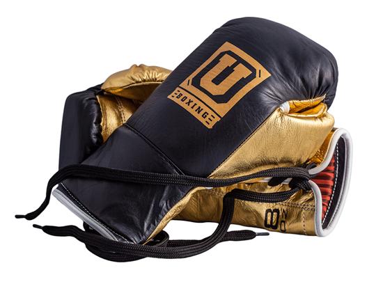 Изображение Профессиональные боевые перчатки Ultimatum Gen3ProFG 2.0 черный/золотой