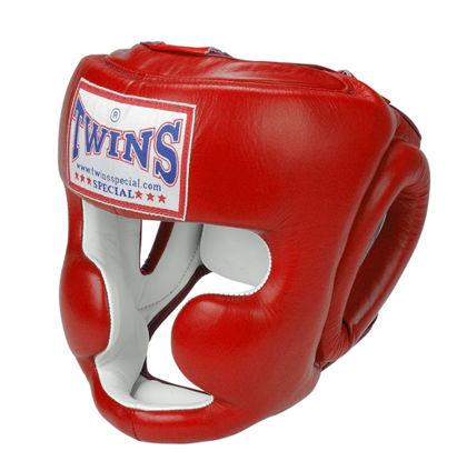 Изображение Шлем боксерский TWINS красный