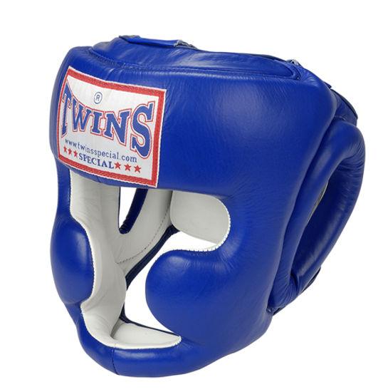 Изображение Шлем боксерский TWINS синий