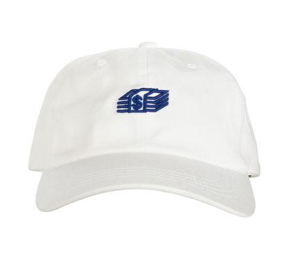 Изображение Бейсболка TMT MONEY STACK белый/синий один размер