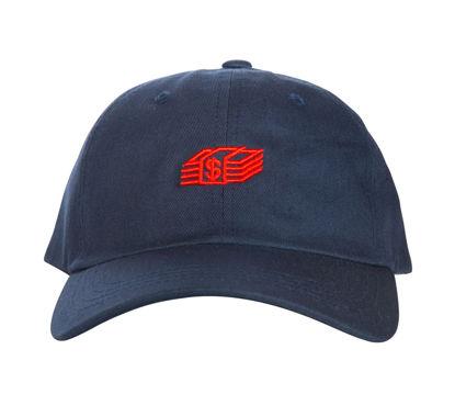 Изображение Бейсболка TMT MONEY STACK синий/красный один размер