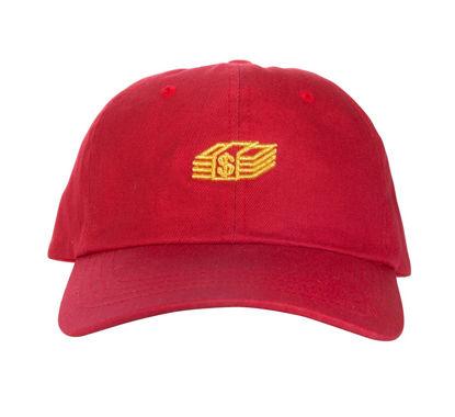 Изображение Бейсболка TMT MONEY STACK красный/желтый один размер