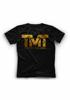 Изображение Футболка TMT RUSSIA GOLD черный