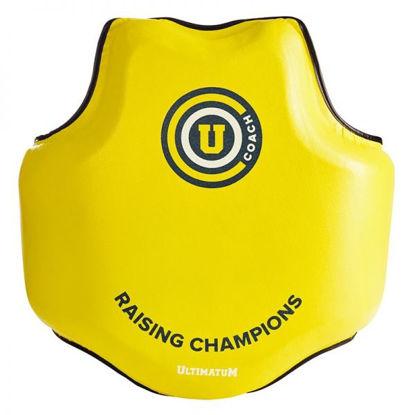 Изображение Жилет защитный тренерский Ultimatum Gen3U-Shield  RC желтый/черный