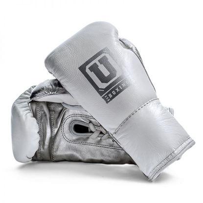Изображение Профессиональные боевые перчатки Ultimatum Gen3ProFG 2.0 белый/серебро