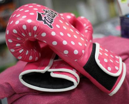 Изображение Тренировочные перчатки женские FAIRTEX Пинк