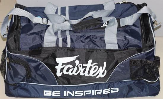 Изображение Вместительная Спортивная сумка FAIRTEX черный/синий
