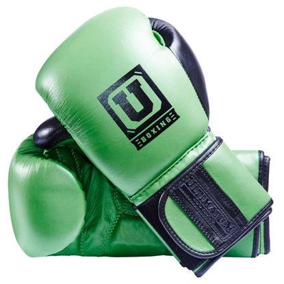 Тренировочные перчатки зелёный цвет