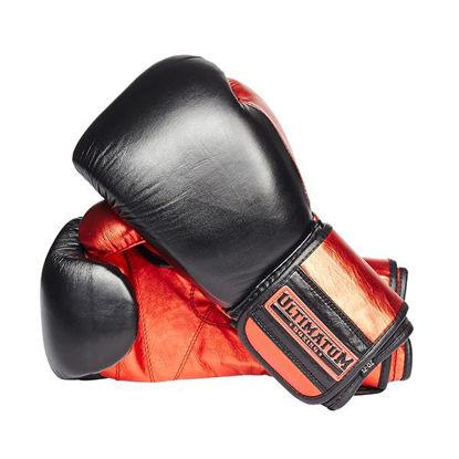 Изображение Тренировочные боксерские перчатки Ultimatum Gen3Pro Code Red черный/красный