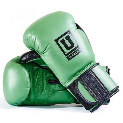 Спарринговые боксерские перчатки зелёный