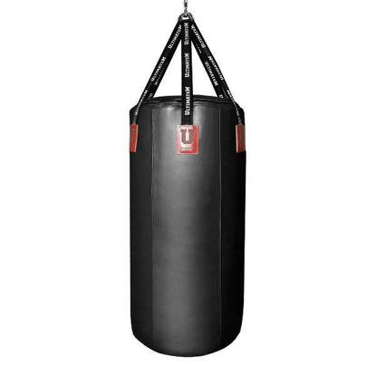 Мешок боксерский (черный) Ultimatum 120х60, 120 кг