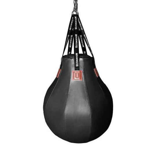 Мешок боксерский (черный) Ultimatum 100х80 Uppercut, каплевидный, 100кг