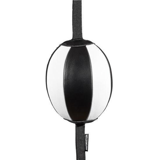 Пневмогруша боксерская Ultimatum Double End Bag Model 2, чёрный-белый
