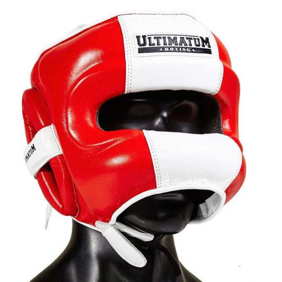 Шлем боксерский с бамперной защитой Ultimatum Gen3FaceBar Outlaw
