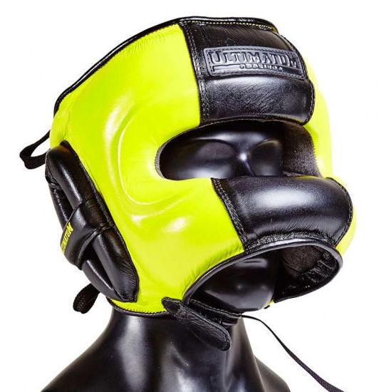 Шлем боксерский с бамперной защитой Ultimatum Gen3FaceBar Toxic