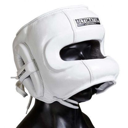 Шлем боксерский с бамперной защитой Ultimatum Gen3FaceBar WhiteForce
