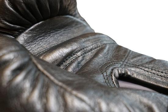 Кожаные боксерские перчатки «Старая школа для души» индивидуальный дизайн